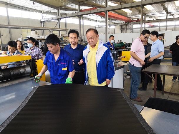 幅宽1200mm电热熔套是华仕达为中石油管道局专门生产的