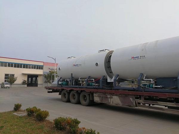 华仕达生产的保温管设备螺杆能挤出1万多吨