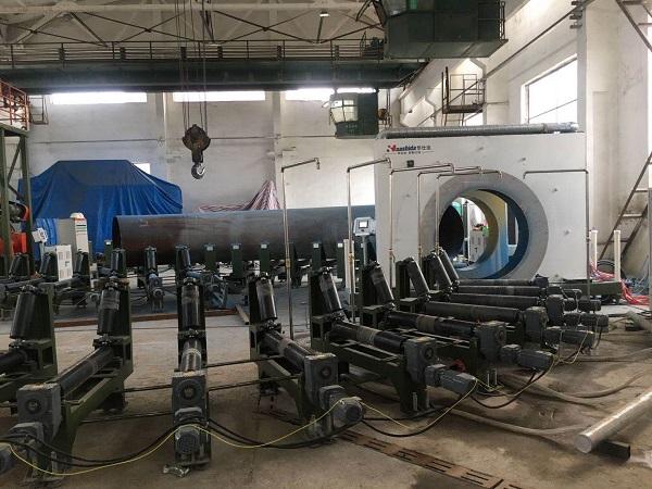 关于标准化评价华仕达弯管缠绕式  3PE防腐生产线的成果报告