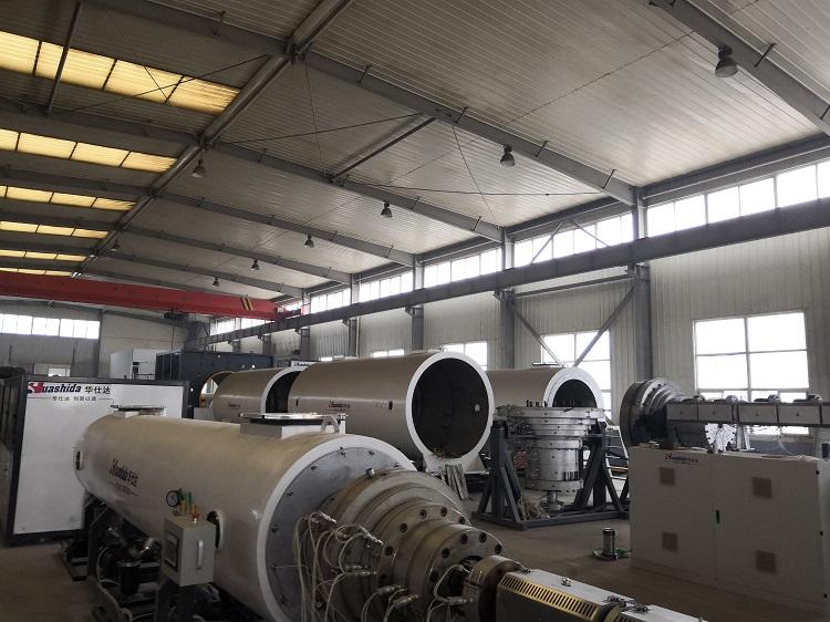 年前华仕达还有上千万元的保温管设备需要生产