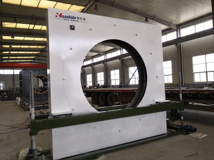 被油气行业广泛接受的华仕达弯管缠绕式  426-1220型3PE防腐生产线