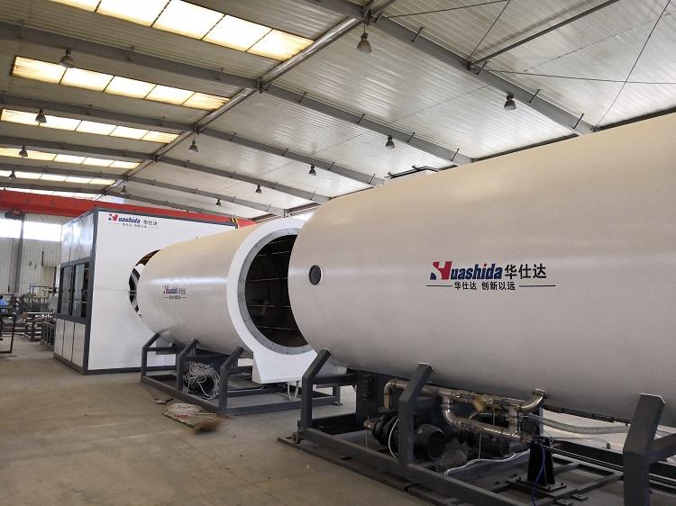 华仕达为中国制造保温管生产线增光添彩