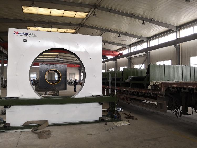 弯管防腐生产线和华仕达研发的输送结构