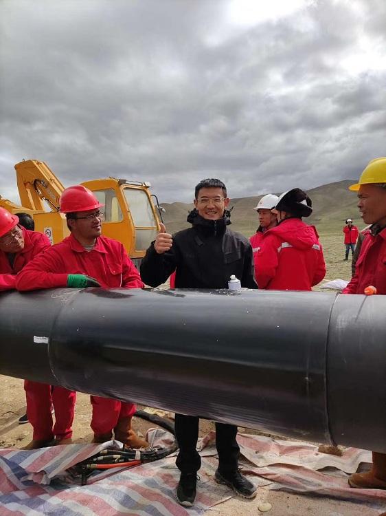 华仕达与中石油管道局两强联手  成就了一条高品质管道工程