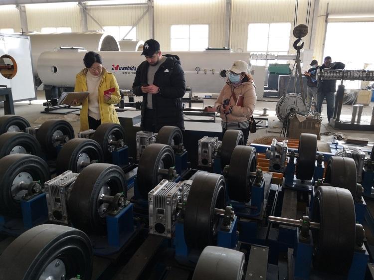 3PE钢管防腐线华仕达已取得了8项专利和著作权