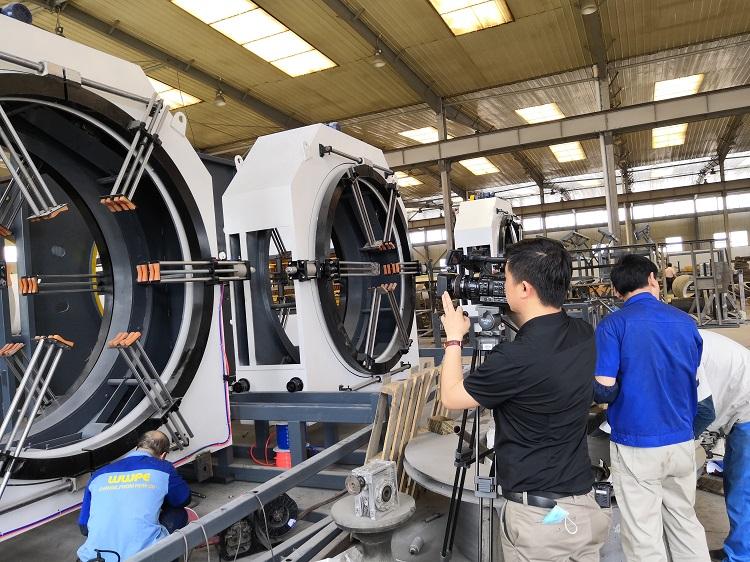 保温管生产线的发展和华仕达具有的核心技术