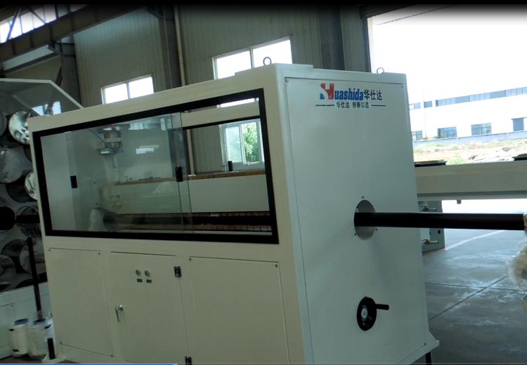 华仕达一步法PERT保温管生产线处于行业先进水平的
