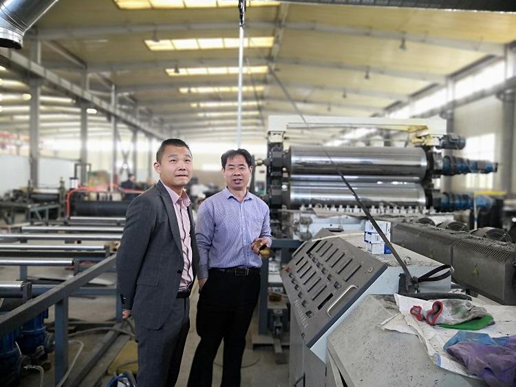 振德兴将从华仕达引进PERT管材生产线