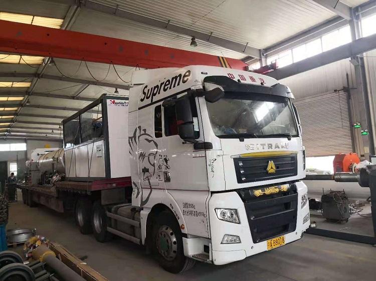华仕达又一条600型保温管设备发往宁夏青龙