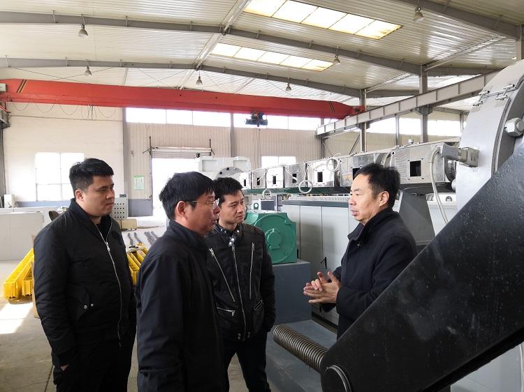 鸿鑫是华仕达保温管生产线的标杆性客户