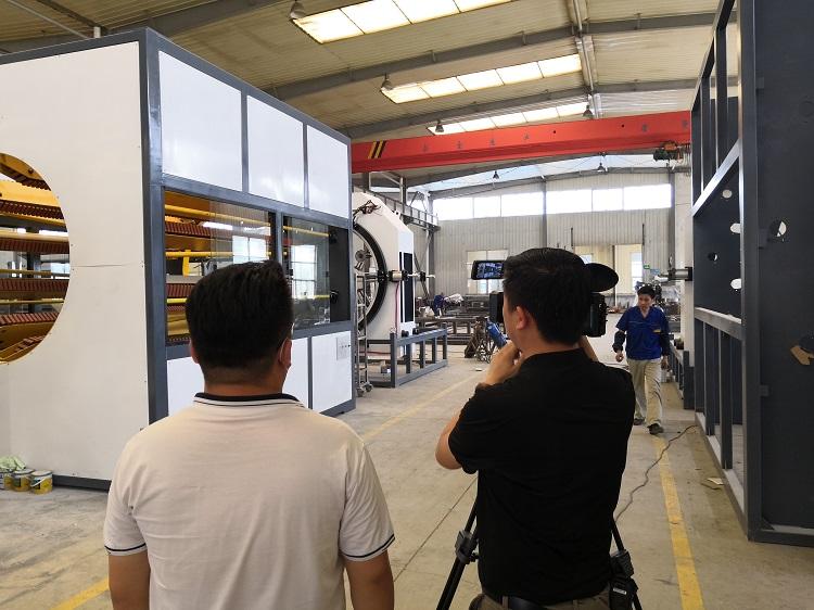 利用华仕达保温管生产线核心技术打通上下游产业链