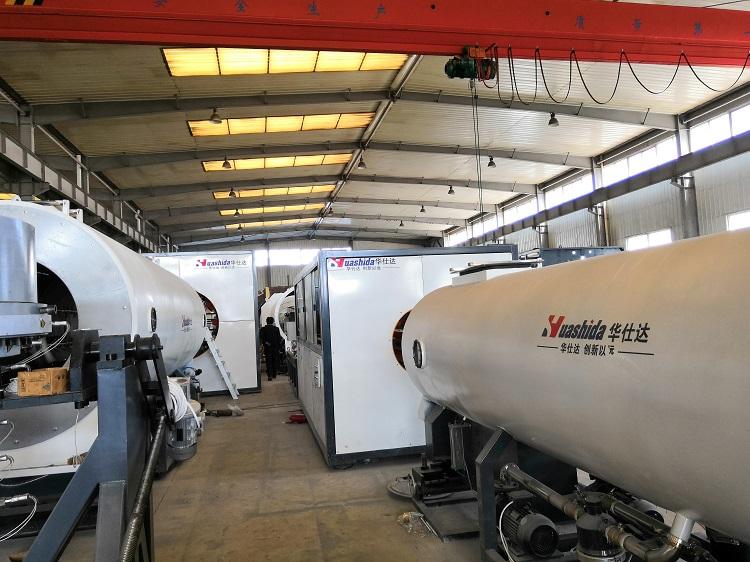 城阳区政府将华仕达首台(套)保温管生产线融入三年行动计划