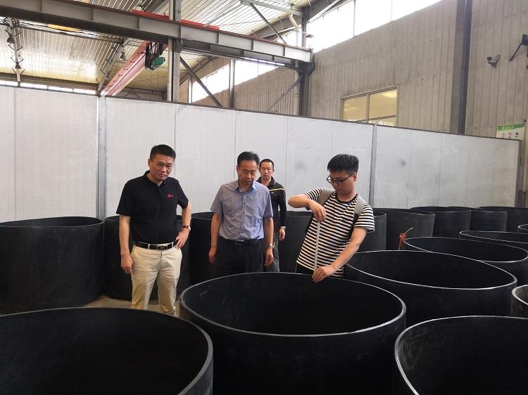 郑州:重点民生供热工程采购华仕达无缝热熔套
