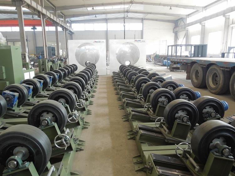 建设美丽中国需要华仕达自动调节3PE防腐生产线